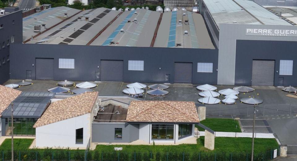 Vue panoramique Site de production NIORT